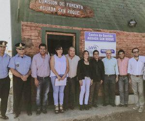 Aguada San Roque cuenta con un centro de gestión del ISSN