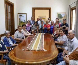 Adultos mayores de Chos Malal visitaron Casa de Gobierno