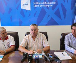 Bomberos Voluntarios de Plottier firmaron el primer convenio para ser parte del ISSN.