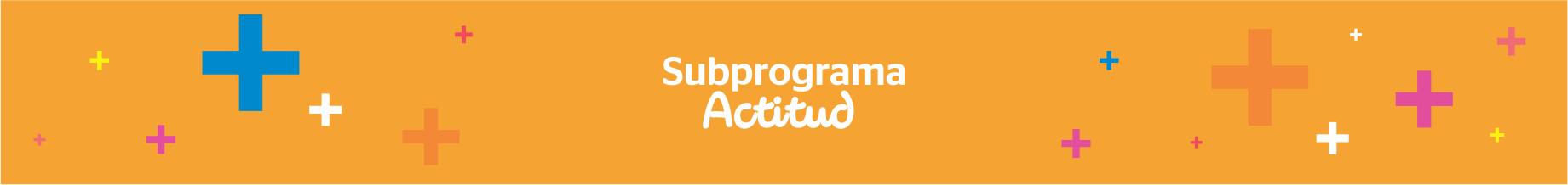 Subprograma – Actitud