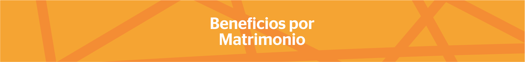 Beneficios por matrimonio